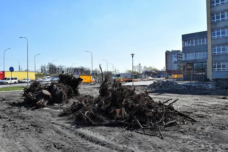 Budowa centrum przesiadkowego Opole Wschodnie trwa, choć GDOŚ nie wydał jeszcze postanowienia w sprawie ważności decyzji środowiskowej.