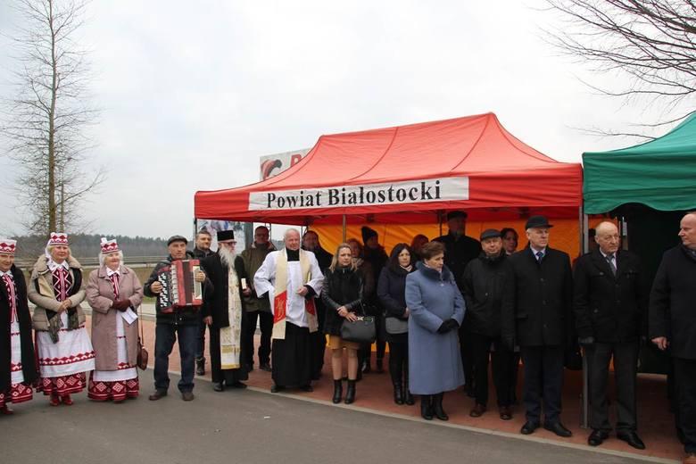 Otwarcie drogi z Bobrownik w kierunku Łużan [zdjęcia]