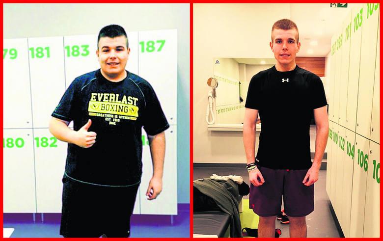 W ciągu 9 miesięcy łodzianin zrzucił 57 kilogramów.