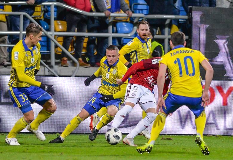 Na zdjęciu: piłkarze Arki Gdynia