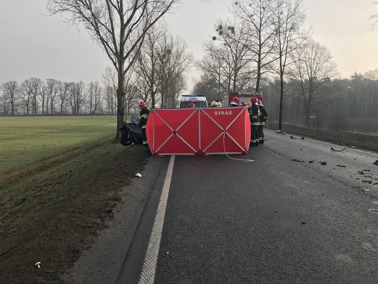 Do tragedii doszło dziś o godzinie 8.15 na drodze krajowej nr 45 pomiędzy Opolem a Zawadą.