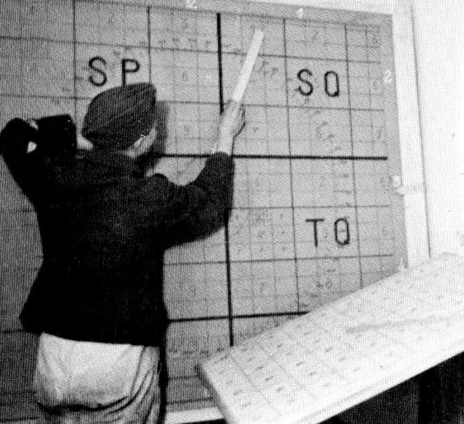 W sztabie podziemnego miasta, które zaprojektowali i użytkowali Niemcy, a po wojnie rozbudowali Polacy z myślą o planowanej inwazji wojsk Układu Warszawskiego na kraje skandynawskie.<br />