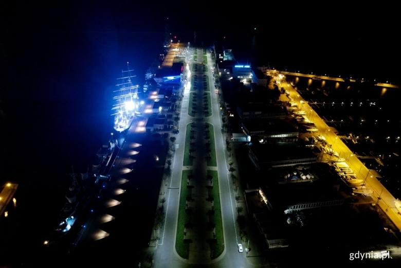 Zaciemnienie w Gdyni 1.12.2020