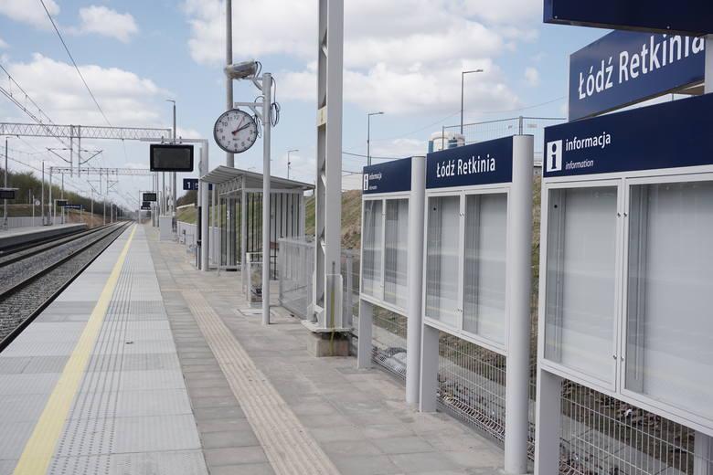 Przystanek Łódź Retkinia zamknięty jeszcze przez miesiąc
