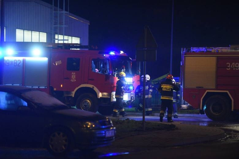 Pożar na wysypisku śmieci w Toruniu wybuchł dziś wieczorem (11.11) około godziny 19.48 - jak wynika z komunikatu Komendy Wojewódzkiej Państwowej Straży