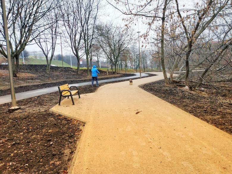 Nowe miejsca rekreacji. W parku Jana Pawła II na Czubach przygotowano więcej atrakcji