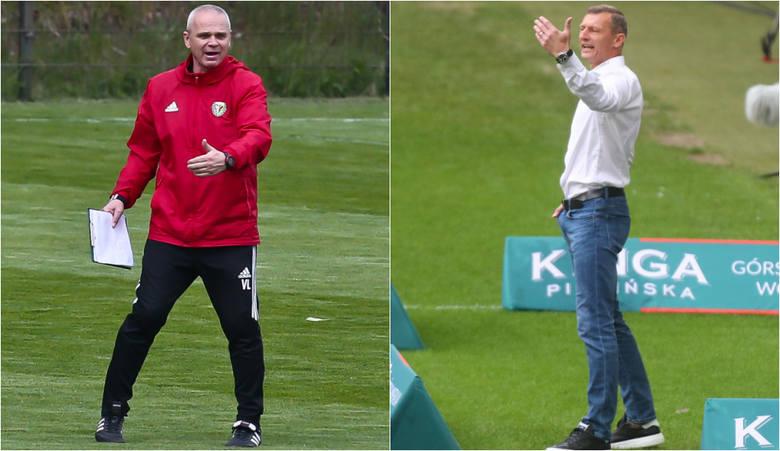Zarówno Vítězslav Lavička (z lewej) jak i Dariusz Żuraw w niedzielę muszą przekonać swoich pracodawców, że wciąż warto na nich stawiać. W obu klubach