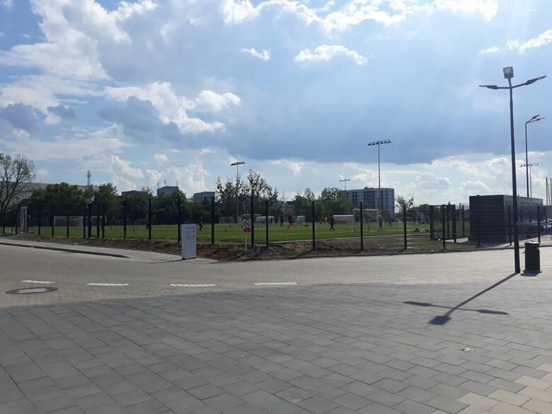 Stadion Pogoni Szczecin - stan prac na 9 czerwca 2021.