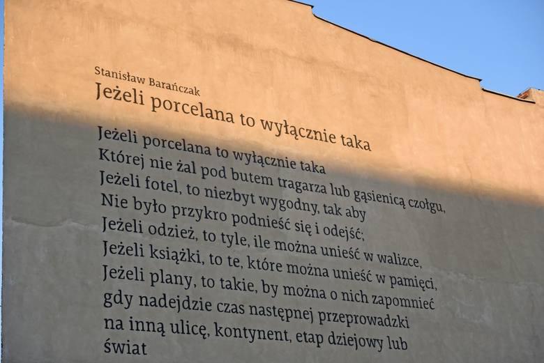 Nowy mural przy ul. Szyperskiej w Poznaniu
