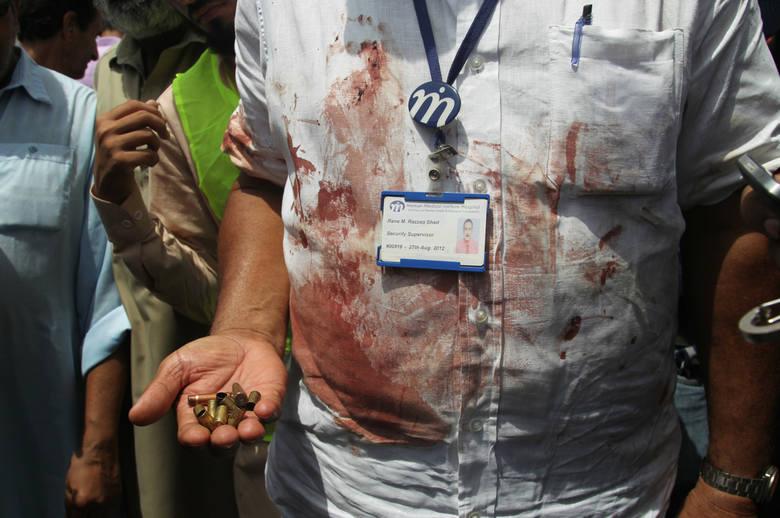 Zamach w Karaczi
