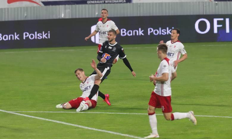 Piłkarska ekstraklasa. Oceniamy piłkarzy ŁKS po meczu z Jagiellonią Białystok