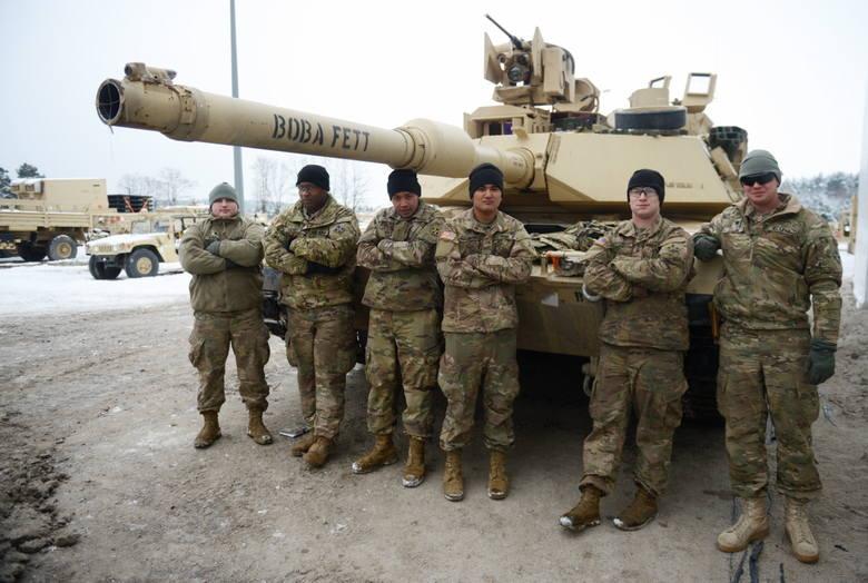 Wojsko amerykańskie w żagańskich koszarach