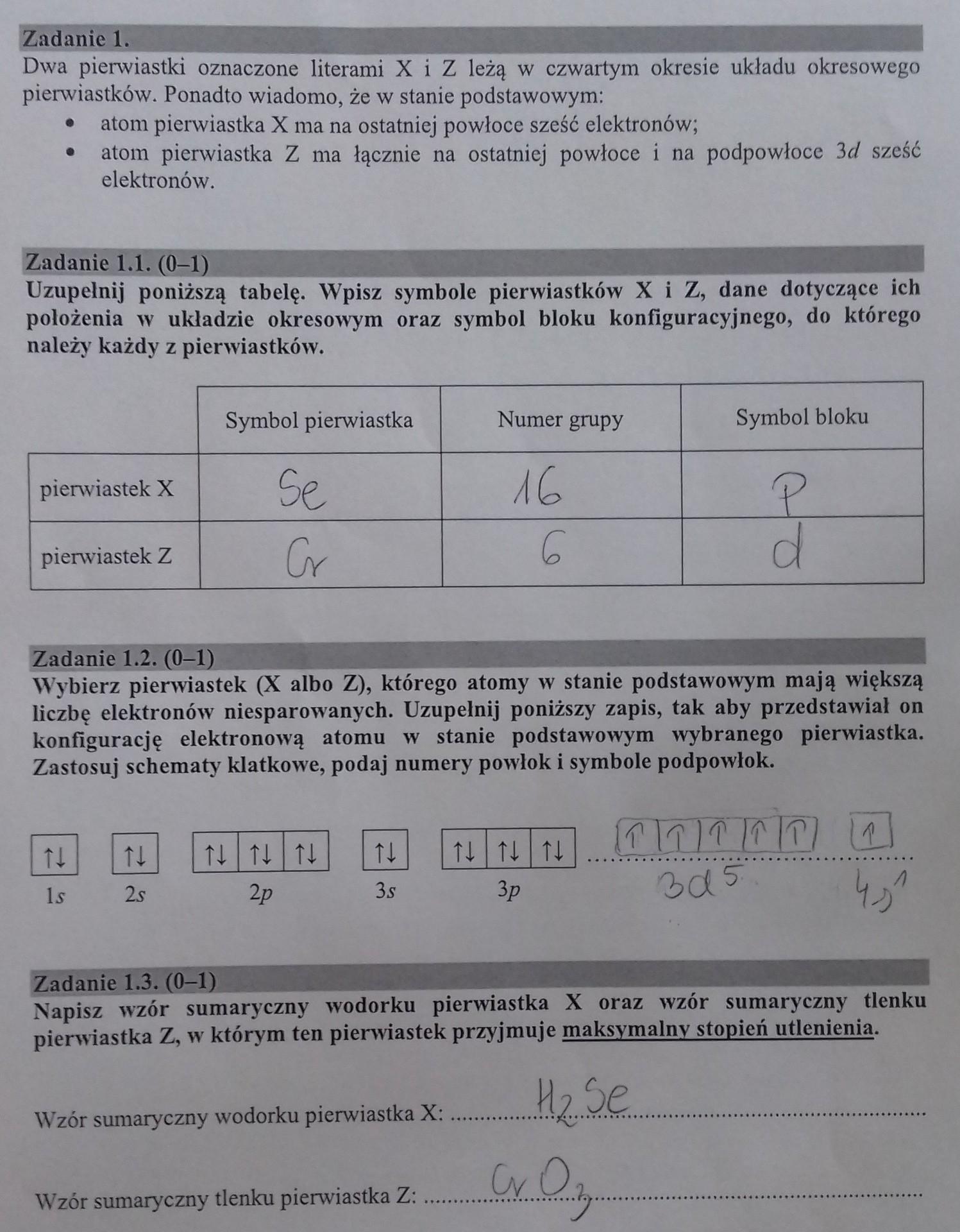 chemia klasa 7 podstawa programowa
