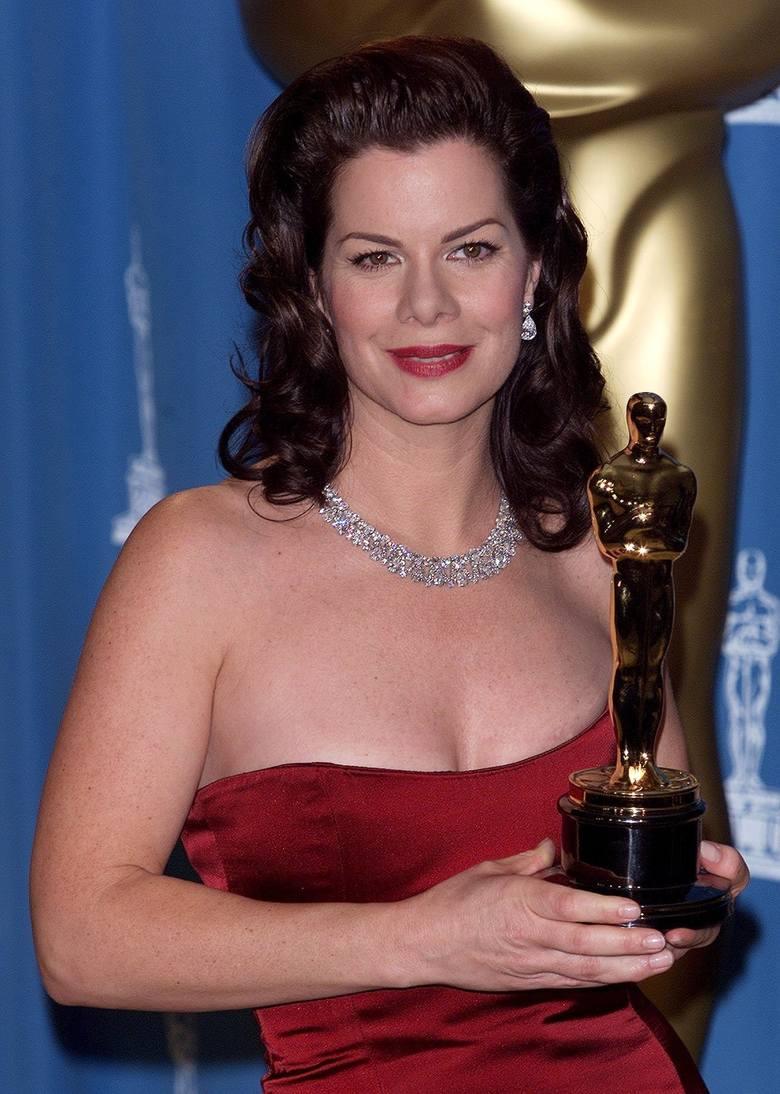 """Marcia Gay Harden z Oscarem dla najlepszej aktorki drugoplanowej za rolę w filmie """"Pollock"""""""