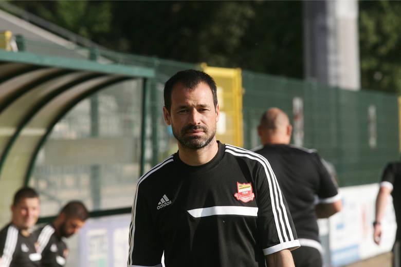Pawlak jako trener Chojniczanki Chojnice