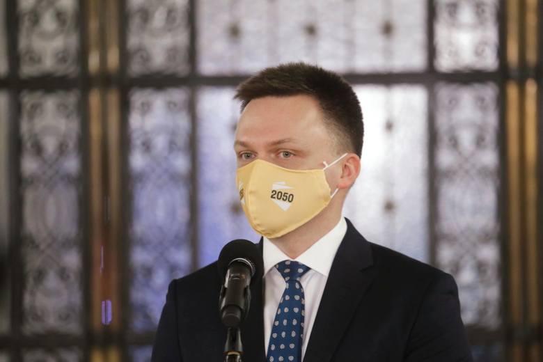 Nowy sondaż zaufania wśród polityków. Tylko Szymon Hołownia i Andrzej Duda przekroczyli 50 procent pozytywnych odpowiedzi
