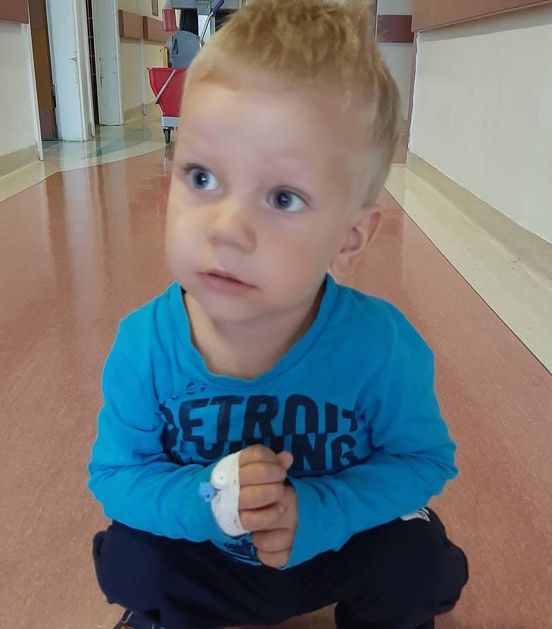 3-letni Kubuś Zajączkowski z Poborszowa pod Kędzierzynem-Koźlem cierpi od pierwszych dni swojego życia. Nie musi tak być, ponieważ w USA jest lek, który