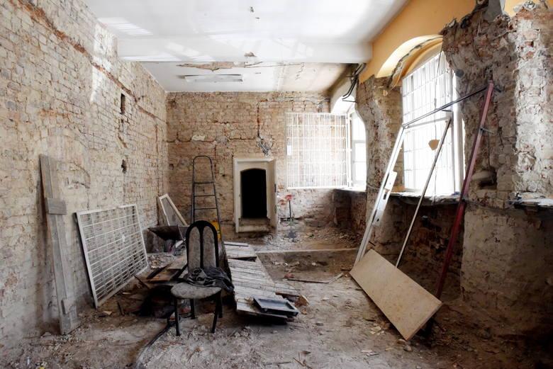 Byliśmy do tej pory jedynymi dziennikarzami, którym udało się wejść do remontowanego ratusza.