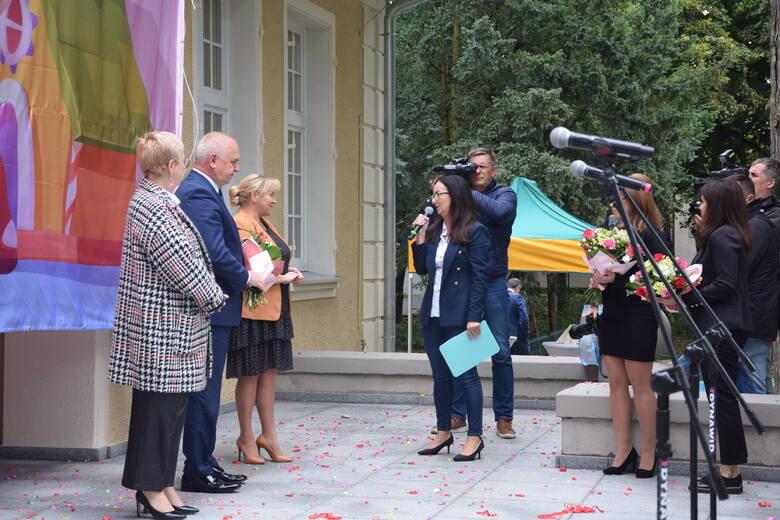 Uroczystość otwarcia nowego żłobka (filii żłobka nr 1) przy alei Wojska Polskiego 116 w Zielonej Górze - 22 września 2021