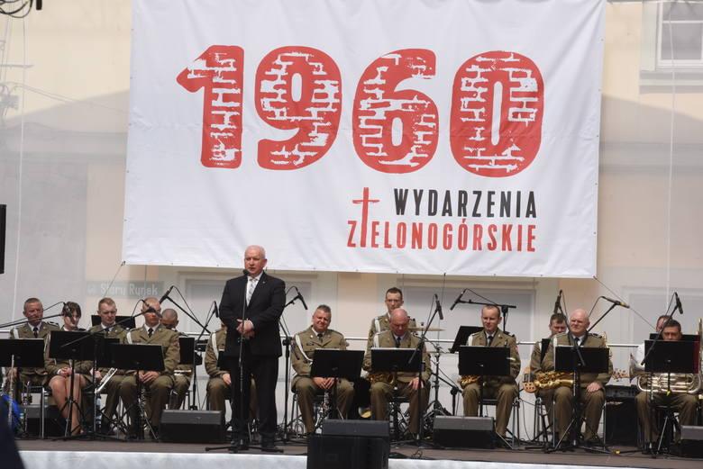 58. rocznica Wydarzeń Zielonogórskich 1960. Odznaczenie pośmiertne uczestników Wydarzeń Zielonogórskich i żyjących osób zasłużonych w regionie.