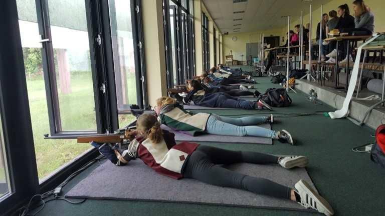 Na  strzelnicy WKS Zawisza w Bydgoszczy odbyła się I runda zawodów strzeleckich Wojewódzkiej Kujawsko Pomorskiej Ligi Strzeleckiej. Zawodnicy rywalizowali