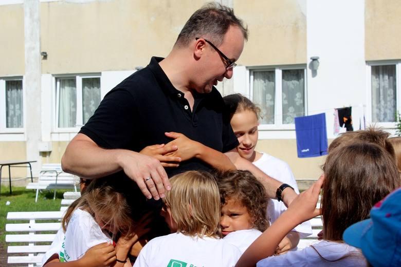 Dzieci odwiedził Rzecznik Praw Obywatelskich Adam Bodnar