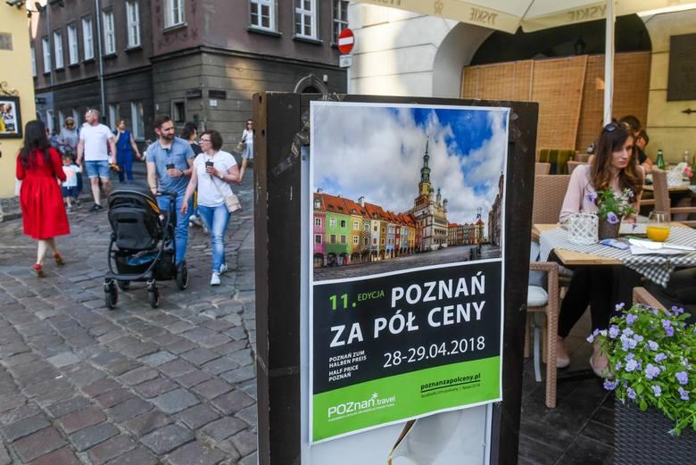 """Tak przebiegała akcja """"Poznań za pół ceny"""" w ubiegłych latach."""
