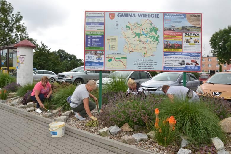 W gminie Wielgie dbają o porządek