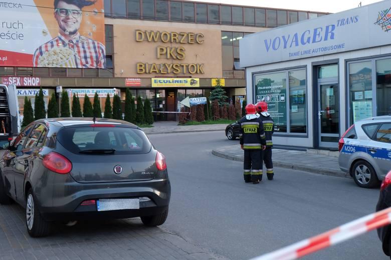Z budynku dworca ewakuowano około 50 osób.