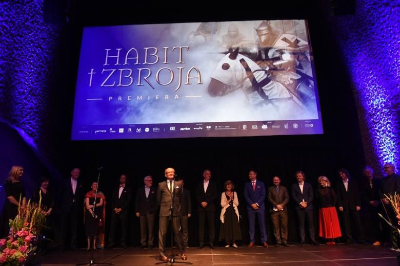 "Premiera filmu ""Habit i zbroja"" w Toruniu"