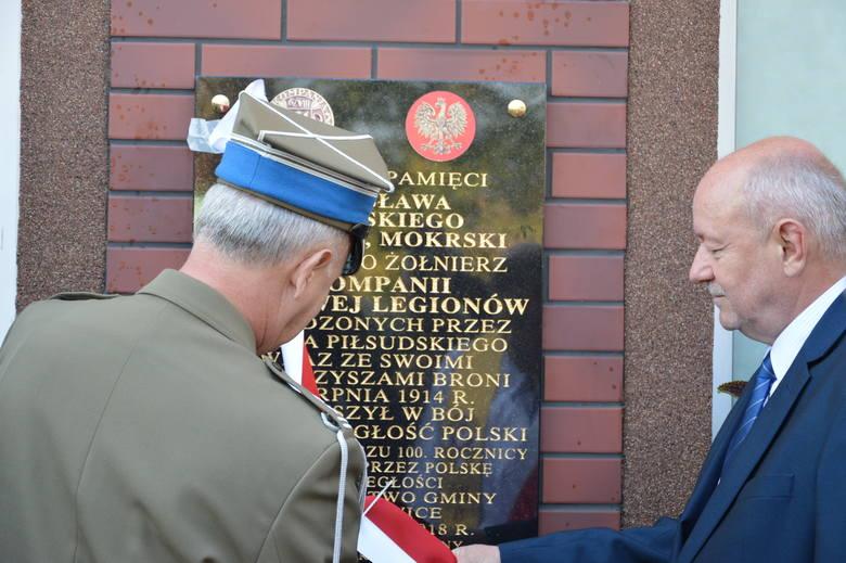 Społeczność Mokrej Prawej uczciła pamięć swojego krajana, legionisty i uczestnika wojny polsko - bolszewickiej