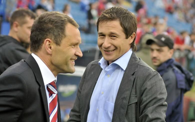 Ryszard Czerwiec (z lewej) i Miroslaw Szymkowiak