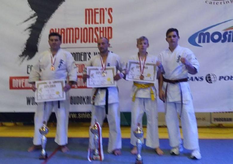 Kielecki Klub Karate Kyokushin Koronea z medalami na Otwartych Mistrzostwach Europy Karate w Dębicy