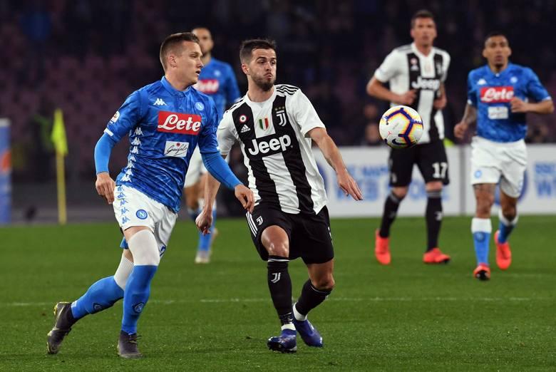Co za emocje w Serie A! Napoli - Juventus 1:2. Wojciech Szczęsny, Arkadiusz Milik i Piotr Zieliński - trzech Polaków zagrało w hicie Serie A