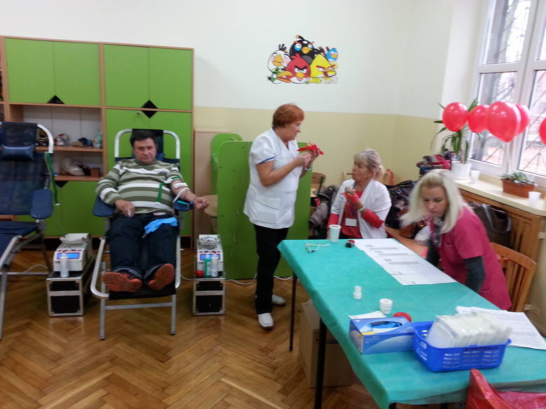 W SP nr 138 w Łodzi zbierano krew dla chorego ucznia [ZDJĘCIA]