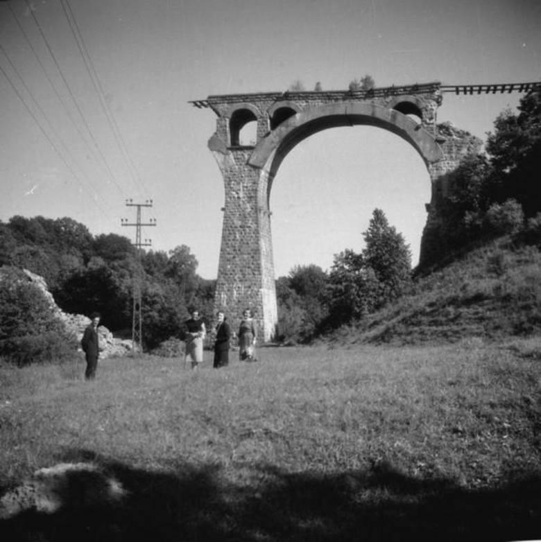 Ruiny mostu bytowskiego