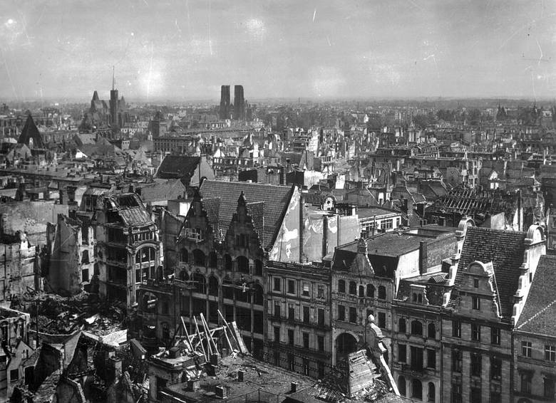 Odbudowa Wrocławia po II wojnie światowej