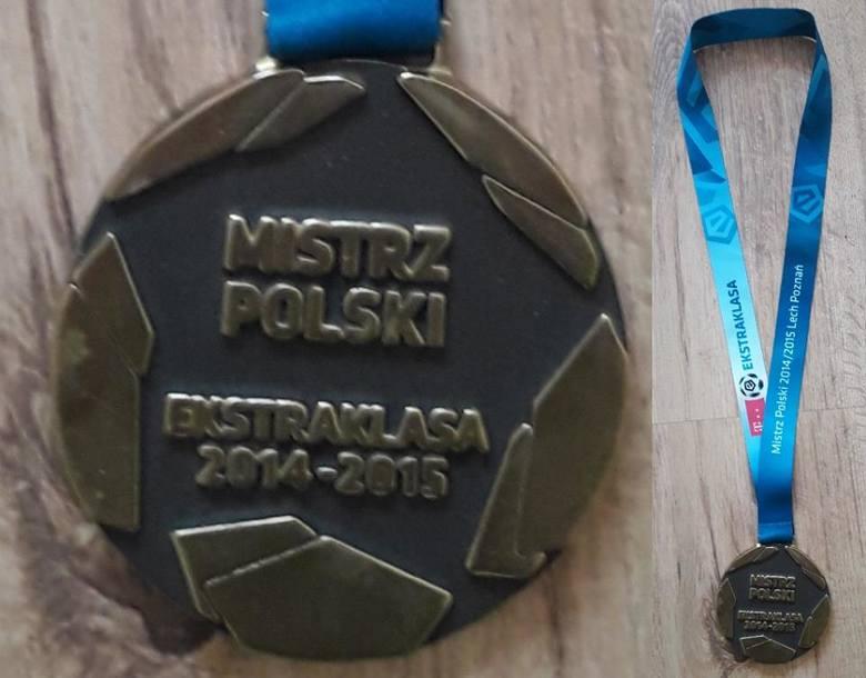 Medal za mistrzostwo Polski w 2015 roku