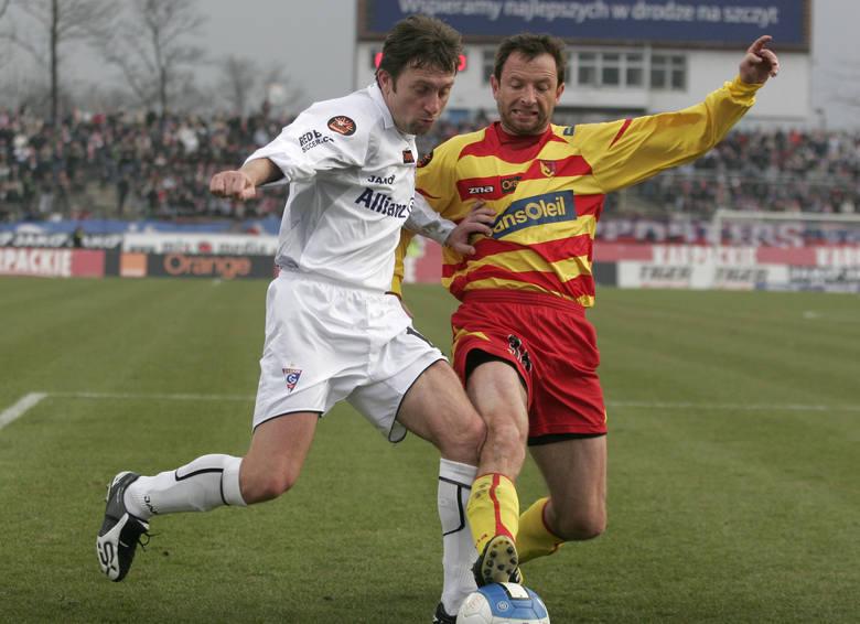 Tomasz Sokołowski w lutym 2008 roku podpisał półroczny kontrakt z Jagiellonią. Na początku rundy grał nawet dosyć często, ale w końcówce siedział głównie