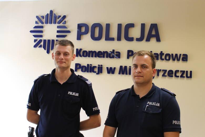 Marcin Haczek i Zbigniew Stępień