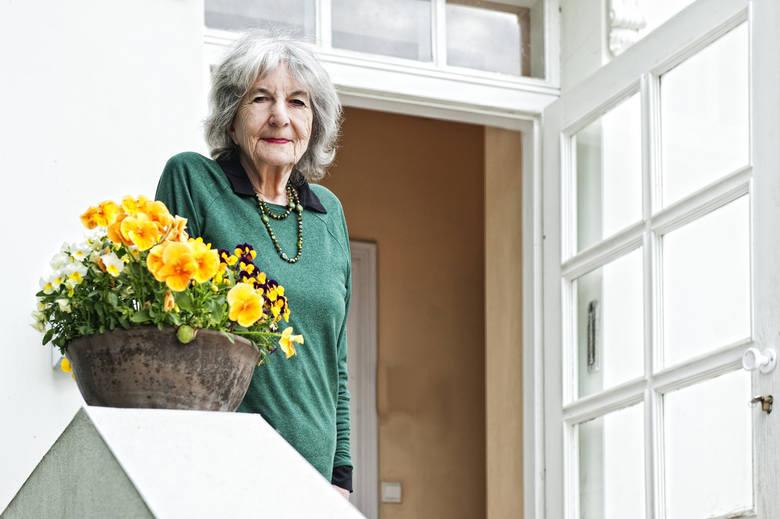 Beata Ostrowska-Harris, właścicielka pałacu w Korczewie