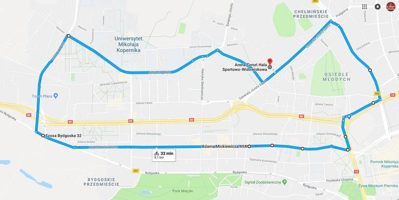 Wieczorny przejazd rolkowy przez miasto będzie oznaczał  utrudnienia dla kierowców. Start zaplanowano ok. godz. 19.00 z parkingu Areny Toruń. Zobacz