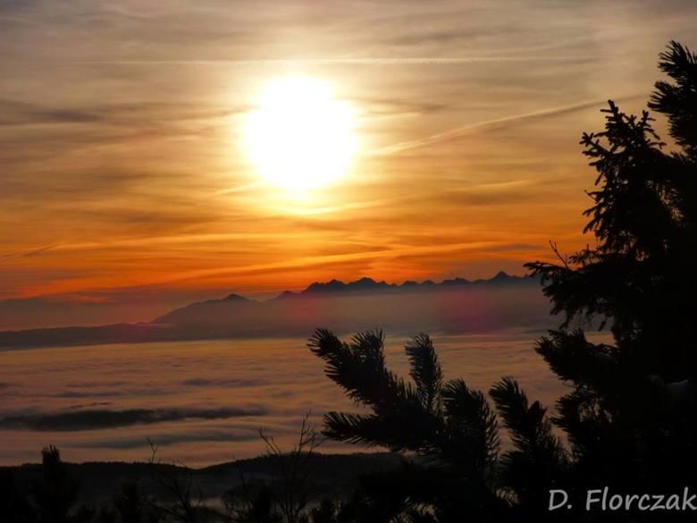 Niesamowity wschód słońca na Babiej Górze [ZDJĘCIA]