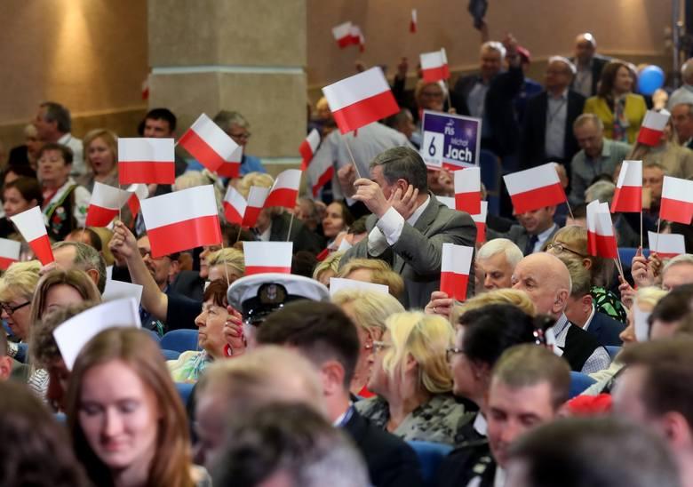 Konwencja PiS w auli Uniwersytetu Szczecińskiego [ZDJĘCIA]
