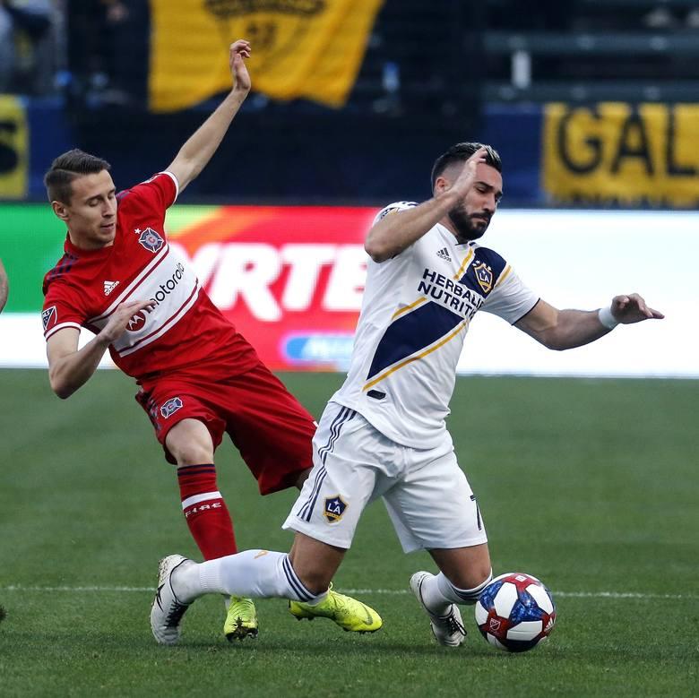 Przemysław Frankowski w MLS rozegrał trzy mecze w barwach Chicago Fire