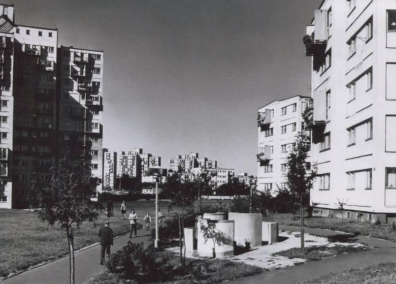 Osiedle Słowackiego zaprojektowane przez Zofię i Oskara Hansenów.