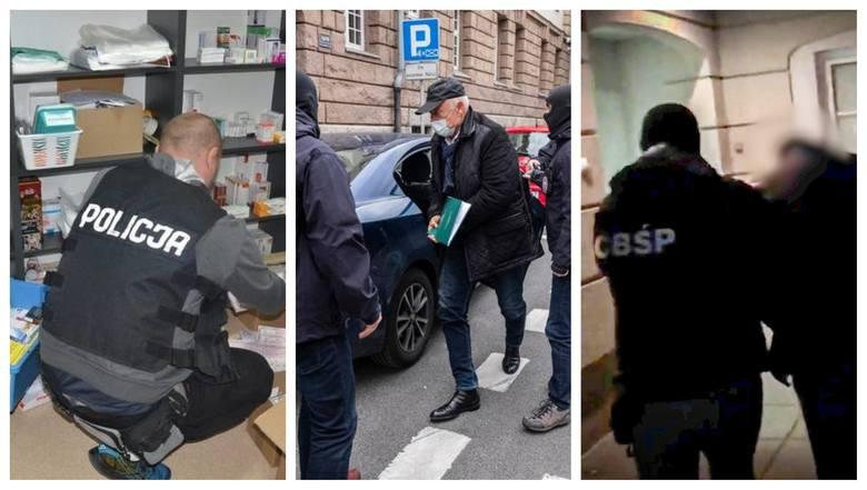 Akt oskarżenia w sprawie tzw. mafii mieszkaniowej, zatrzymania w związku z tzw. mafią lekową, aresztowanie Sławomira Nowaka, zatrzymanie Ryszarda Krauzego