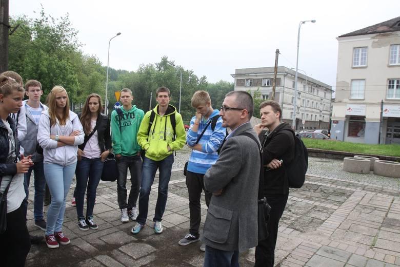 Tomasz Kowalski opowiada o getcie młodzieży z Gimnazjum nr 37 i Szkoły Mistrzostwa Sportowego