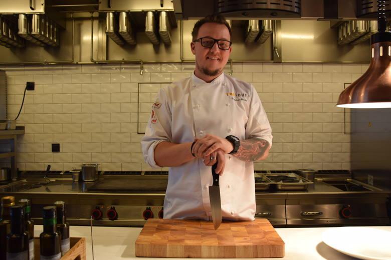 Jarosław Śliwka - szef kuchni w 27th Floor w Katowicach