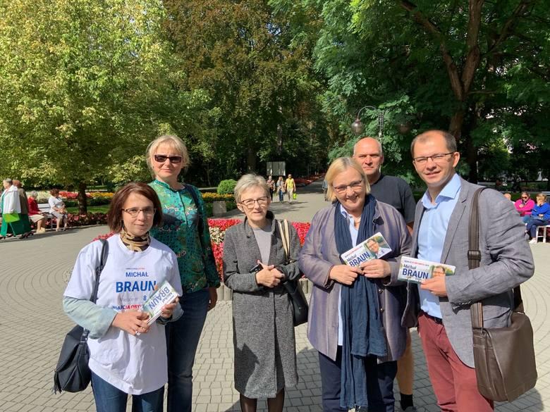 Róża Thun i Michał Braun w Busku - Zdroju o pomysłach Koalicji Obywatelskiej z ochronę zdrowia (WIDEO, ZDJĘCIA)